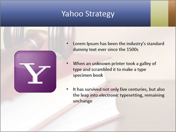 Law Books And Hummer PowerPoint Template - Slide 11