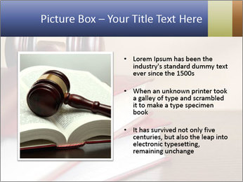 Law Books And Hummer PowerPoint Template - Slide 13