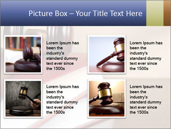 Law Books And Hummer PowerPoint Template - Slide 14