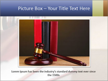 Law Books And Hummer PowerPoint Template - Slide 16