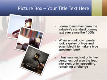 Law Books And Hummer PowerPoint Template - Slide 17