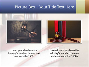 Law Books And Hummer PowerPoint Template - Slide 18