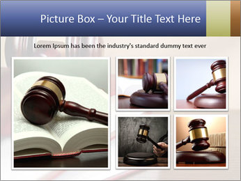 Law Books And Hummer PowerPoint Template - Slide 19