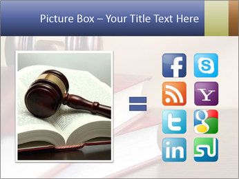 Law Books And Hummer PowerPoint Template - Slide 21