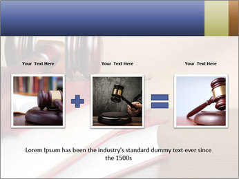 Law Books And Hummer PowerPoint Template - Slide 22