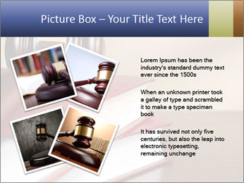 Law Books And Hummer PowerPoint Template - Slide 23