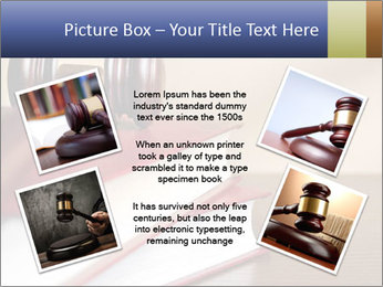 Law Books And Hummer PowerPoint Template - Slide 24