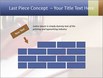 Law Books And Hummer PowerPoint Template - Slide 46