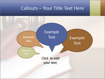 Law Books And Hummer PowerPoint Template - Slide 73