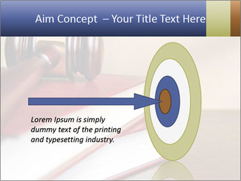 Law Books And Hummer PowerPoint Template - Slide 83
