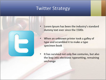 Law Books And Hummer PowerPoint Template - Slide 9