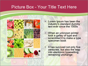 Fruits Collage PowerPoint Template - Slide 13