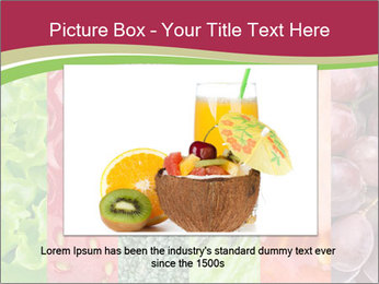Fruits Collage PowerPoint Template - Slide 15