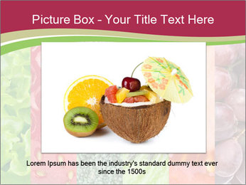 Fruits Collage PowerPoint Template - Slide 16