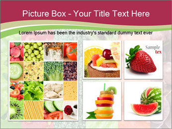 Fruits Collage PowerPoint Template - Slide 19
