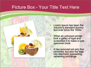 Fruits Collage PowerPoint Template - Slide 20