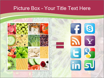 Fruits Collage PowerPoint Template - Slide 21