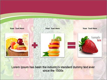 Fruits Collage PowerPoint Template - Slide 22