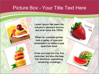 Fruits Collage PowerPoint Template - Slide 24