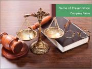Justice Case PowerPoint Templates