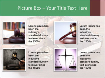 Justice Case PowerPoint Template - Slide 14