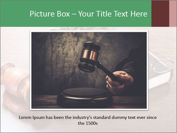 Justice Case PowerPoint Template - Slide 15
