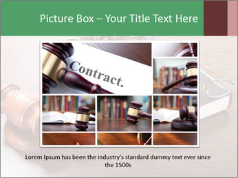 Justice Case PowerPoint Template - Slide 16