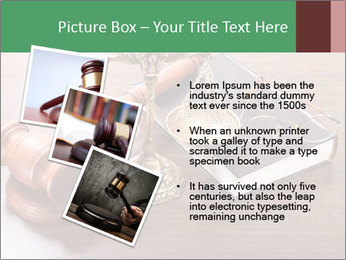 Justice Case PowerPoint Template - Slide 17