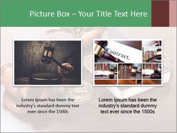 Justice Case PowerPoint Template - Slide 18