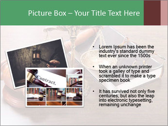 Justice Case PowerPoint Template - Slide 20