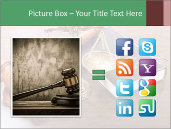 Justice Case PowerPoint Template - Slide 21