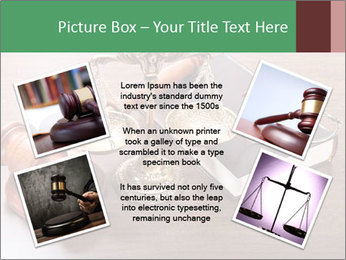 Justice Case PowerPoint Template - Slide 24