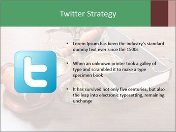 Justice Case PowerPoint Template - Slide 9