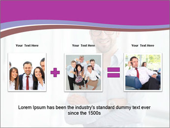 Elegant Man PowerPoint Template - Slide 22