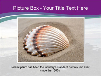 Seashore And Lighthouse PowerPoint Templates - Slide 15
