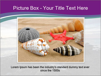 Seashore And Lighthouse PowerPoint Templates - Slide 16