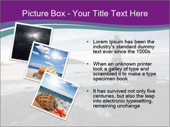 Seashore And Lighthouse PowerPoint Templates - Slide 17