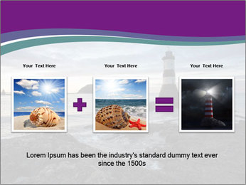 Seashore And Lighthouse PowerPoint Templates - Slide 22