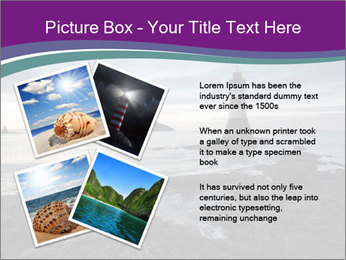 Seashore And Lighthouse PowerPoint Templates - Slide 23