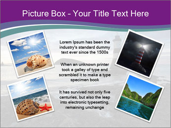 Seashore And Lighthouse PowerPoint Templates - Slide 24