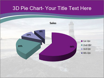 Seashore And Lighthouse PowerPoint Template - Slide 35