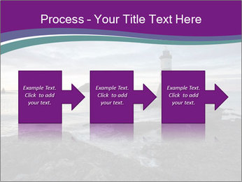 Seashore And Lighthouse PowerPoint Templates - Slide 88