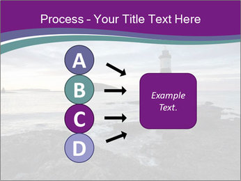 Seashore And Lighthouse PowerPoint Template - Slide 94