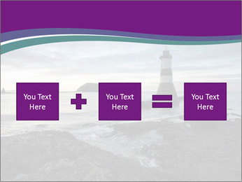Seashore And Lighthouse PowerPoint Template - Slide 95
