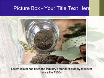 Aromatic Herb PowerPoint Template - Slide 15