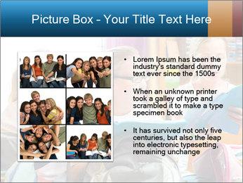 Three Schoolgirls PowerPoint Templates - Slide 13
