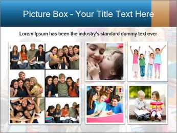 Three Schoolgirls PowerPoint Templates - Slide 19
