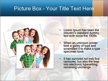 Three Schoolgirls PowerPoint Templates - Slide 20