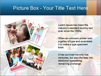 Three Schoolgirls PowerPoint Templates - Slide 23