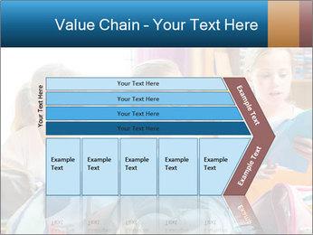 Three Schoolgirls PowerPoint Templates - Slide 27